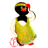 Custom penguin dancer to private collection