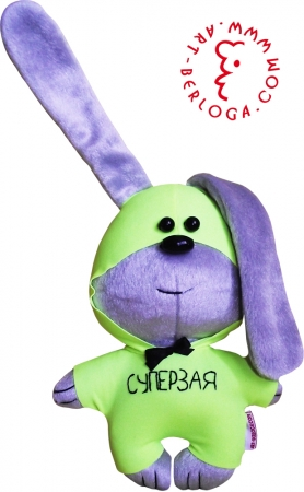 Super Zaya bunny flirt toy