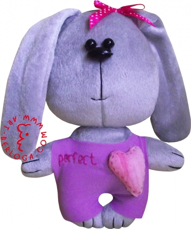 "Flirt toy bunny ""Perfect""."