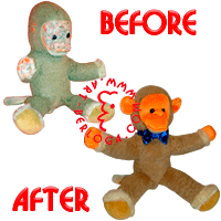 The first plastic plush surgery.