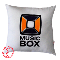 Corporate pillow of music-box UA