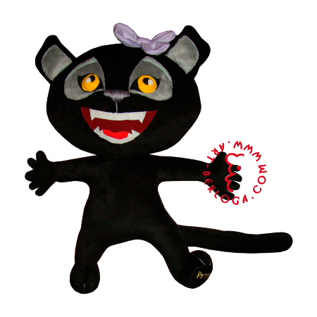 Plush panther - for you princess