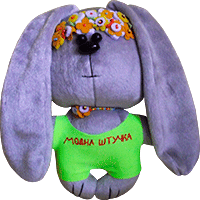 Flirt toy bunny fashion