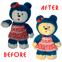 Teddy bears plastic.