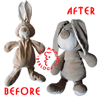 Restoration of a rabbit.