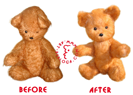 Restoration of the oldest teddy bear aged 125 years