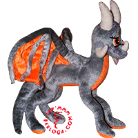 Exclusive custom toy dragon Nettie