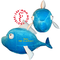 Fish - mascot of an inveterate fisherman!