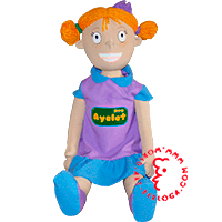 Corporate plush dolls Ayelet (Bulgaria)