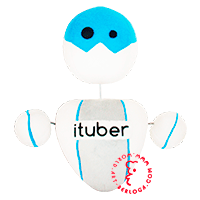 Individual sewing of plush robot for ITuber chanel