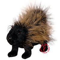 Tailoring of porcupine toy