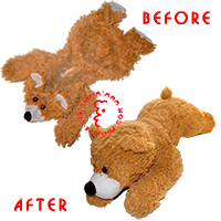 Restoration of the most beloved bear.