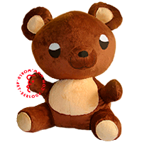 Soft toy Bear from Viber messenger