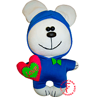 Flirt toy Heart love bear