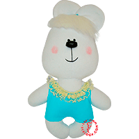Flirt toy lady bear in swimsuit