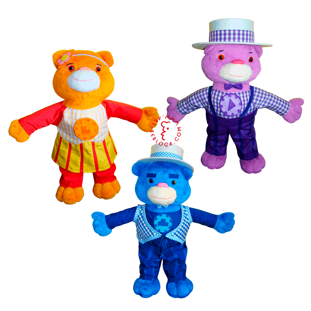 Individual Tailoring Of Handmade Soft Toys Characters Of The