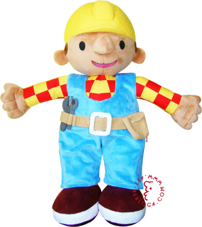 Custom tailoring of a toy Bob the builder