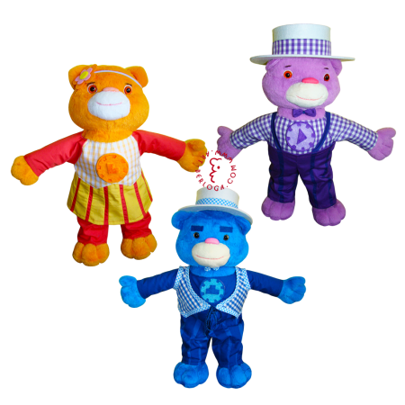 Cuckoo bears from the cartoon Umizoomi
