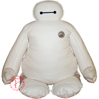 A meter tall version of soft robot Baymax