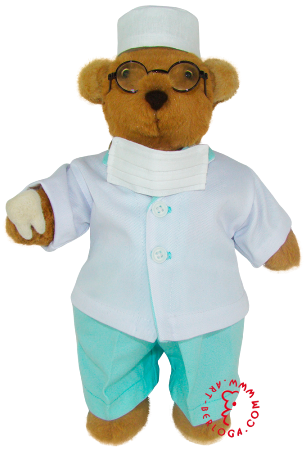 Exclusive Bear-the-Dentist.